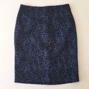 Ann Taylor Tapestry Skirt